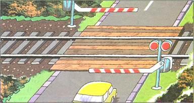 правила проезда железнодорожного переезда со светофором и знаком