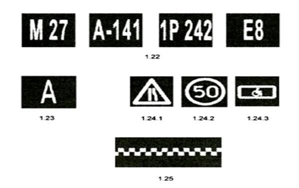 Дорожные разметки и ее характеристики картинки 15